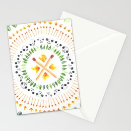 Tropical nightmare Stationery Cards