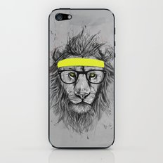 hipster lion iPhone & iPod Skin