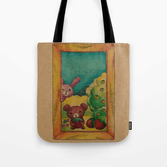 Forest wool Tote Bag