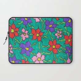 Sweet Floral Garden Laptop Sleeve