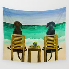 Beach Bums Wall Tapestry