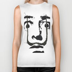 I am drugs ( Salvador Dali ) Biker Tank