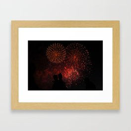 A Moment of Clarity Framed Art Print
