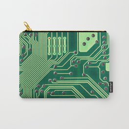 Funny Nerdy Computer Motherboard Carry-All Pouch