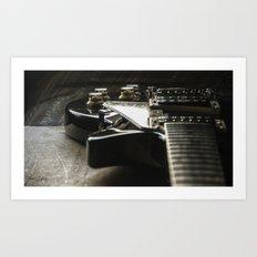 Les Paul 6 Art Print