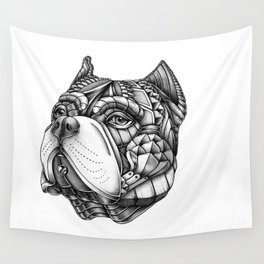 Ornate American Bully Wall Tapestry