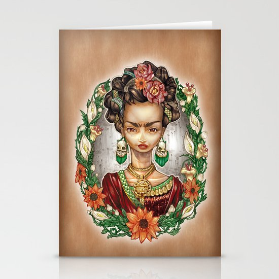 KAHLO Stationery Cards