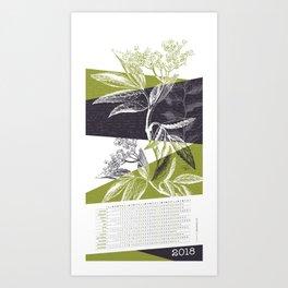 BOTANIA I Art Print