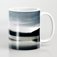 norway Mugs featuring Voss, Norway by anthonyyyg