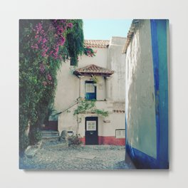 Portugal, Obidos (RR 183) Analog 6x6 odak Ektar 100 Metal Print