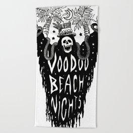 Voodoo Beach Nights Beach Towel