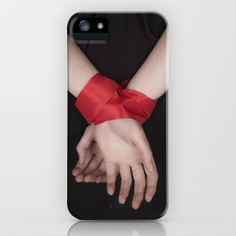 Red Ribbon iPhone Case