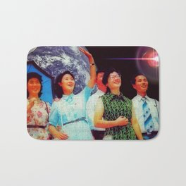 Our industrious people will win! Bath Mat