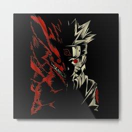 Jinchuriki Metal Print