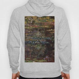 Claude Monet Pool With Water Lilies 1904 Hoody