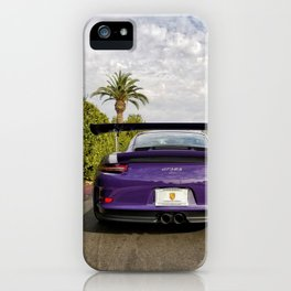GT3 RS Booty iPhone Case