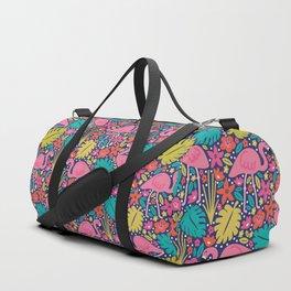 Tropical Flamingo Duffle Bag