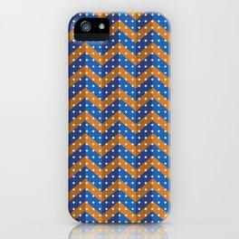 Chevron two-tone iPhone Case