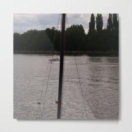Floats! / ça flotte! Metal Print