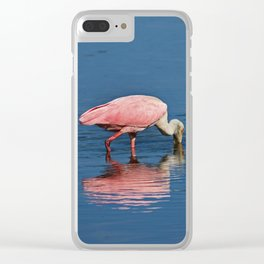 Pink for a Drink Clear iPhone Case