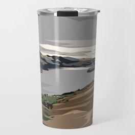 Cass Bay, New Zealand Travel Mug