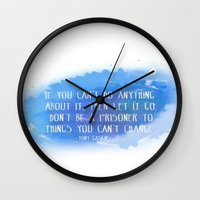 let it go Wall Clocks featuring Let Go by Shereen Yap