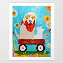 """Friendship"" Art Print"