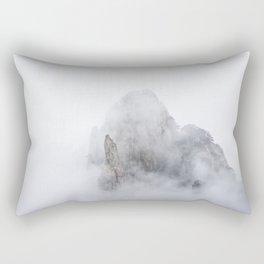 Clouds in Huangshan Rectangular Pillow