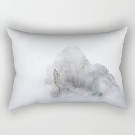 Clouds in Huangshan Rectangular Pillow