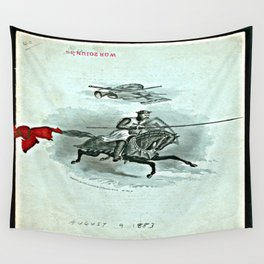 DINNER FOR BOSTON COMMANDERY, KNIGHTS TEMPLAR, AND LADIES - 1883 Wall Tapestry