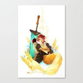 See You in the Country - Transistor Canvas Print