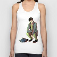 jem Tank Tops featuring Jem and Church by The Radioactive Peach
