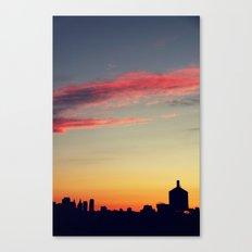 summer skylines Canvas Print