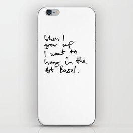 Art Basel iPhone Skin