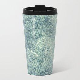Teal Texture Travel Mug