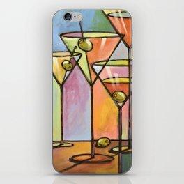 Martini Bar ... Abstract alcohol lounge bar kitchen art iPhone Skin