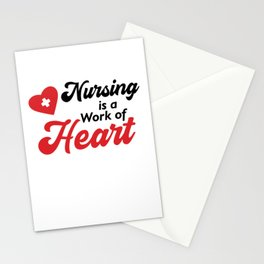 Nurse funny quote gift birthday christmas saying Stationery Cards