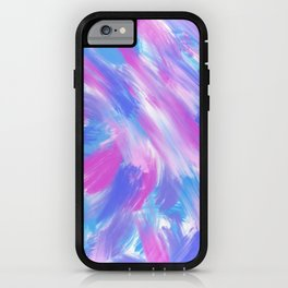 bright brushstrokes iPhone Case