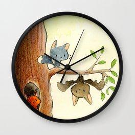 Cute friends Wall Clock