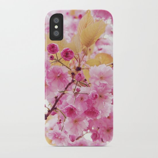 Bloom, bloom, bloom! iPhone Case