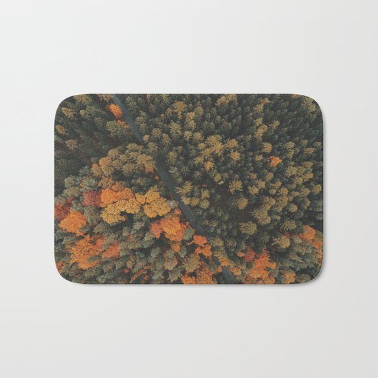 View from above Bath Mat