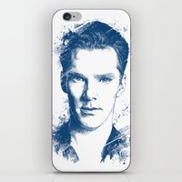 benedict cumberbatch iPhone & iPod Skins featuring Benedict Cumberbatch by Chadlonius