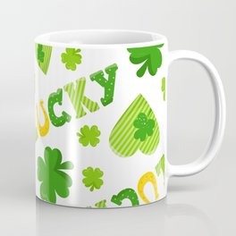 St. Patrick's Day EXTRA IRISH LUCK! Coffee Mug