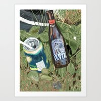 Creative Garbage Art Print