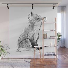 Fox Pup Wall Mural