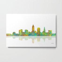 Cleveland, Ohio Skyline Metal Print
