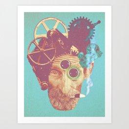 El Mecanico Art Print