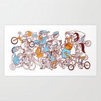 Chain Gang ©Josh Quick  Art Print