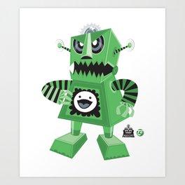 Bratbot Art Print