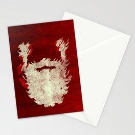 Santa Beard 1 Stationery Cards